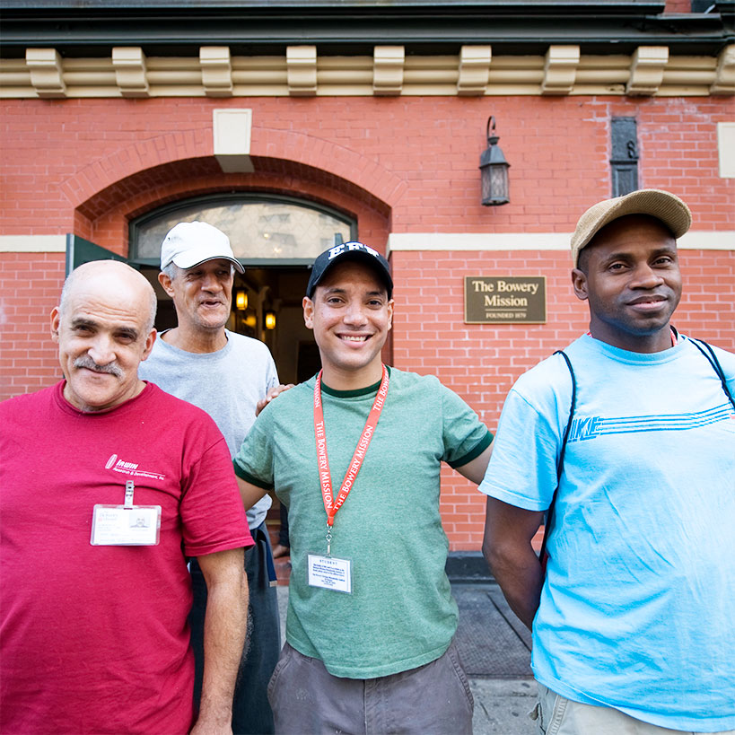 The Bowery Mission's Men's Residential Recovery Program