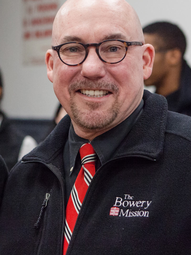 David Jones, The Bowery Mission President and CEO