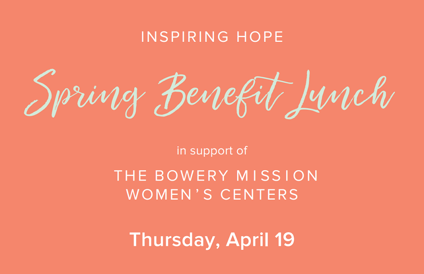 Inspiring Hope Spring Benefit Lunch
