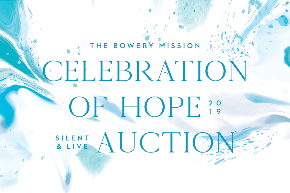 The Bowery Mission's 2019 Celebration of Hope