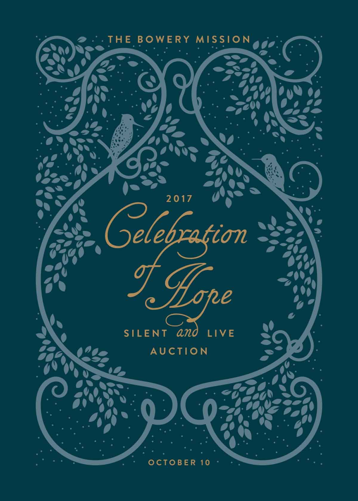 The Bowery Mission's 2017 Celebration of Hope Silent and Live Auction