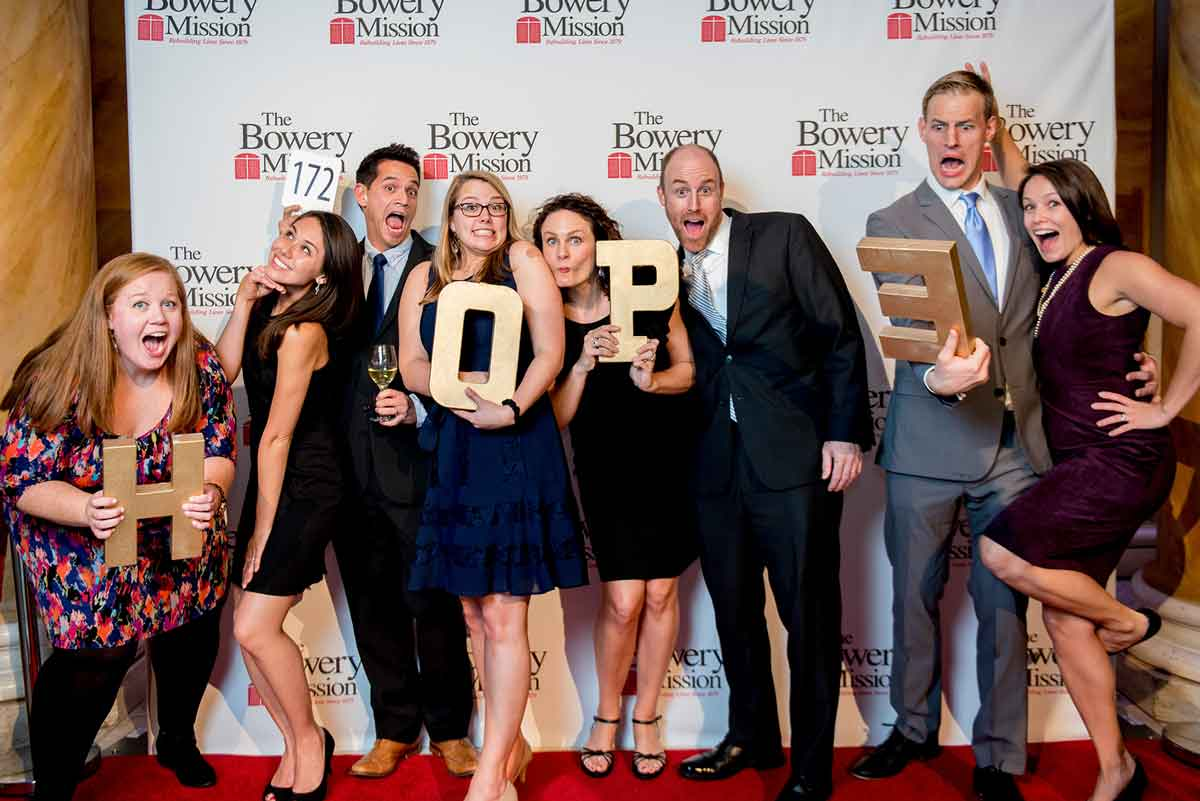 The Bowery Mission - Celebration of Hope Auction at Capitale