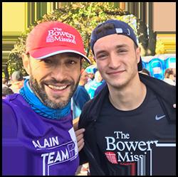 Alain, Team Bowery Mission