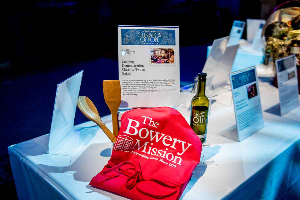 The Bowery Mission - Celebration of Hope at Capitale