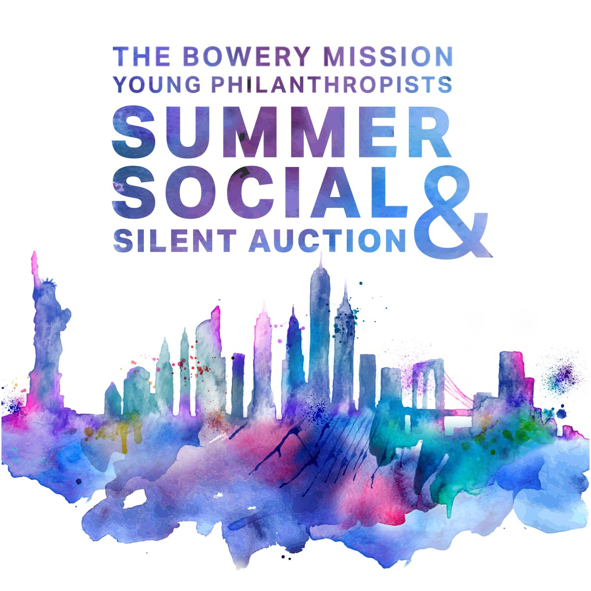 The Bowery Mission's 2017 Young Philanthropist Summer Social & Silent Auction