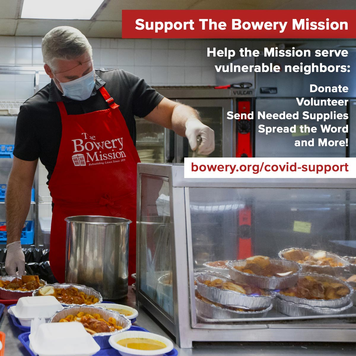 Support The Bowery Mission