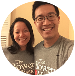 Chris & Phoebe, Team Bowery Mission