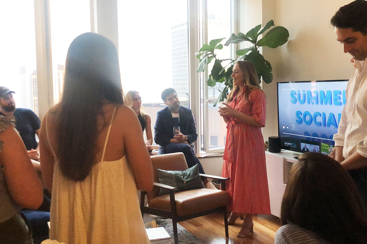 Summer Social viewing party