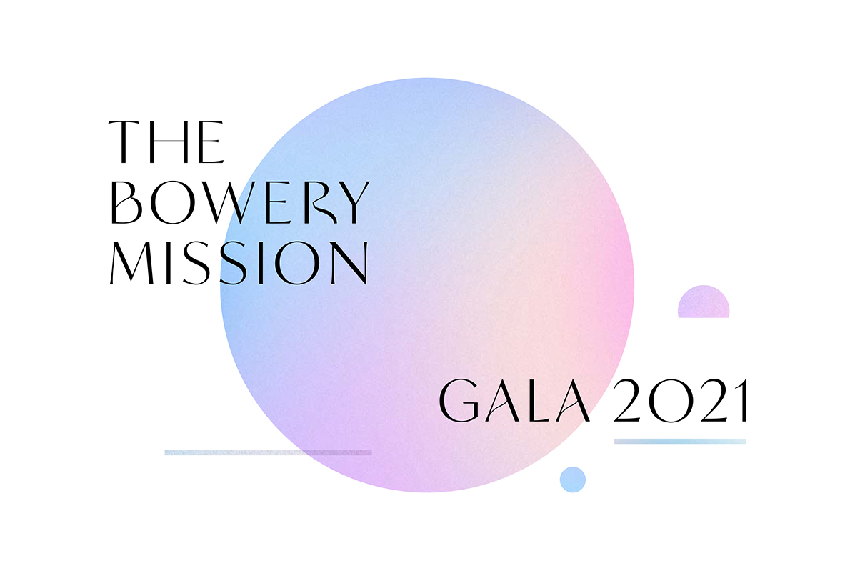 The Bowery Mission's 2021 Virtual Gala
