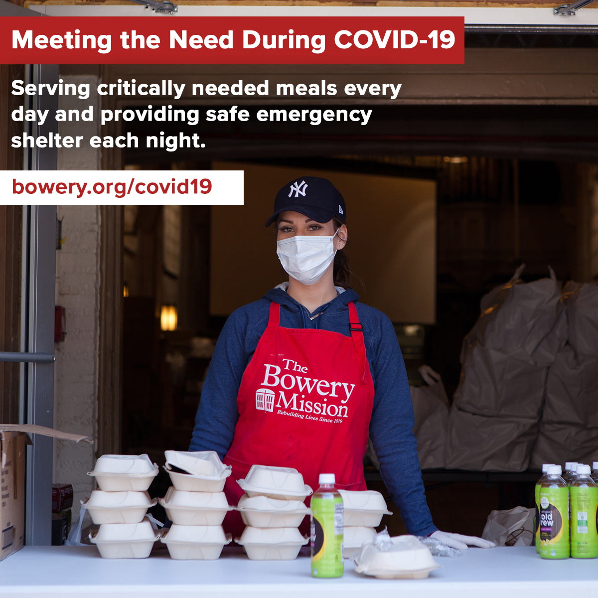 Meeting the need during COVID-19